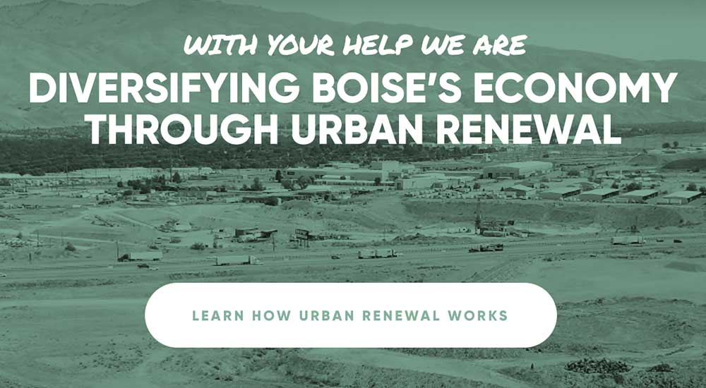 Diversifying Boise's Economy Through Urban Renewal